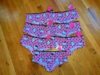 (7) NWT Hello Kitty women hipster cotton/spandex underwear panties size:M/6