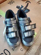 Shimano Carbon Mountain Bike Shoes SH-M225 Mens Size. Eur 39 US 6 MTB Silver