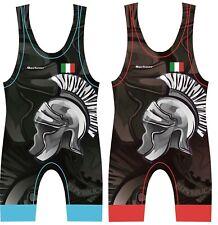 Tuta da wrestling BERKNER ITALY Wrestling Suit Singlet Trikot Ringen
