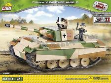 Cobi Toys bricks  Tank 2466 Panzer V Panther Ausf. G  German medium tank blocks