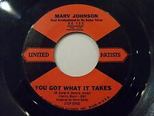 Marv Johnson You Got What It Takes / Don't Leave Me 45 1959 United Vinyl Record