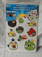 Angry Birds 30+ Reusable Wall Stickers Decorative Decals