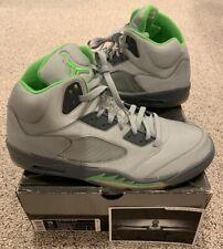 online store 3dd76 a436f Nike Air Jordan Retro 5 V Green Bean Silver Flint Grey 3M Size 15 New DS