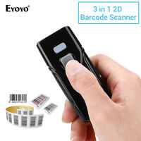1D 2D QR Barcode Scanner Reader CCD PDF417 Data Matrix Code for iPad Phones PC