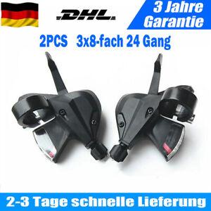 2x Fahrrad Schalthebel Altus MTB SL-M 310 für Shimano 3x8-fach 24 Gang Schaltung
