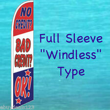 NO CREDIT? BAD CREDIT? OK! FEATHER FLAG Swooper Flutter Banner Advertising Sign