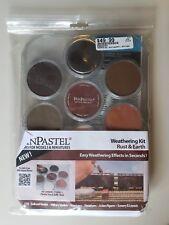 PanPastel Weathering Kit Rust & Earth - 7 Colors, Knife, Sponge Bars - NEW!