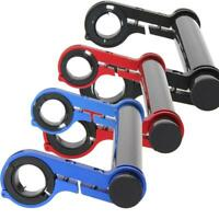 H3E# Double Mountain Bike Handlebar Extender Watch Bracket Holder