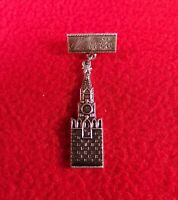 Antique Pin Badge Moscow Russia Town City