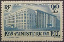 """FRANCE #B83: MLH """"Ministry of Post, Telegraph & Telephone"""" issue with surtax"""