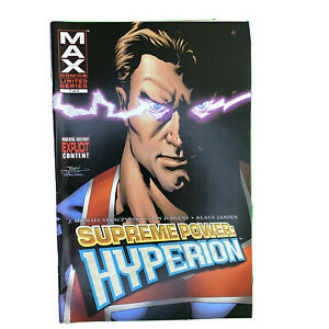 Supreme Power Hyperion 1-5 Comic Book Lot of  5 VF/NM