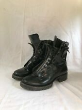 DSQUARED2 Military Boots Season 15 - 40 EU- 7US Size - Black Zipper