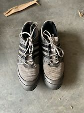 Adidas golf shoes men's grey white size 11.5