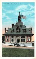 Clarksville Tennessee Post Office Street View Antique Postcard K54781