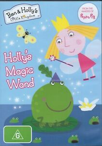 Ben And Holly's Little Kingdom - Holly's Magic Wand (DVD, 2015)  #MP 4