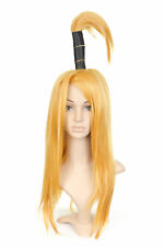 Dark Blonde Long Length Anime Cosplay Costume Wig with Top Tail