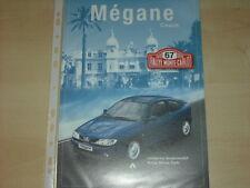 60397) Renault Megane Coach - Rallye Monte Carlo - Prospekt 10/1998