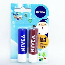 NIVEA Lips Gloss Balm Original Care Pomegranate Shine Caring 4.8 g.Buy 1 Get 1