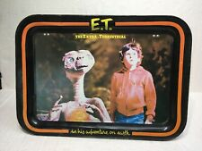 Vintage 1982 E.T. The Extra Terrestrial metal serving lap top TV dinner tray