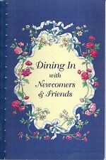 JACKSON MI 2004 DINING IN WITH NEWCOMERS & FRIENDS *CLUB COOK BOOK MICHIGAN RARE