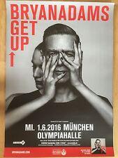 BRYAN ADAMS 2016 MÜNCHEN   orig.Concert Poster - Konzert Plakat   A1 xx USED TOP