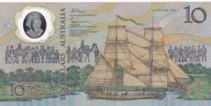 UNC 1988 Australia $10 Note, Pick 49a