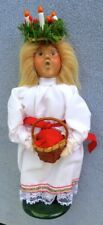 Byers Choice Caroler Children of the World Series Saint Lucia Girl w Candles