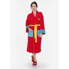 Wonder Woman Classic Bath Robe Red One Size Dh087 CC 06