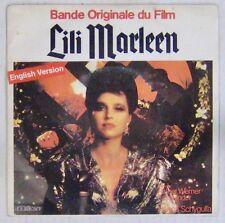 Lili Marleen 45 tours Hanna Schygulla 1981
