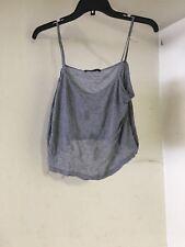 Women's Brandy Melville Grey Sleeveless top One Size E16
