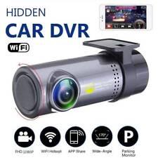 Wifi 1080P visión nocturna oculta DVR coche vehículo Tablero Con Cámara Grabadora De Video
