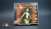 TOMB RAIDER BIG Box Complete PS1 PlayStation Sony One PAL EIDOS CIB FREE UK PP