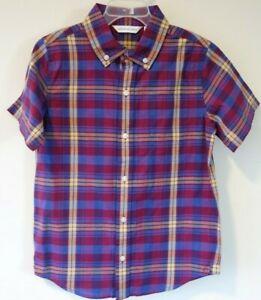 NWT Janie and Jack Varsity Prep Plaid Shirt Boy's Size 7