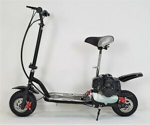 50cc Petrol Scooter, suspension, 50cc, 2 Stroke, Seat, Top Speed 25mph