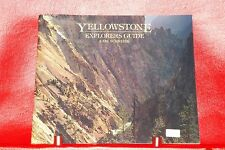 Yellowstone Explorers Guide by Carl Schreier 1st Edition Softcover 1983
