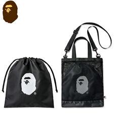A Bathing Ape Bape 2018 Summer Collection Tote Bag Shoulder Bag Two Bag Kit Set