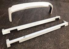 2003 TOYOTA NOAH IMPORT BODYKIT SIDE SKIRTS + REAR BUMPER LIP PLASTIC JDM
