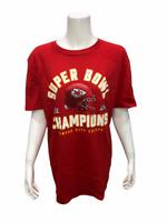 NFL Super Bowl LIV Chiefs Men's Helmet T-Shirt Red X-Large Size