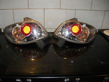 PEUGOT 206 REAR CHROME LIGHTS