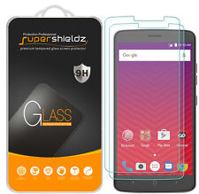 2X Supershieldz for ZTE Max XL Tempered Glass Screen Protector Saver