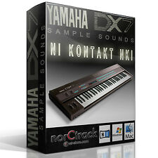YAMAHA DX-7 synth Samples Sounds NI KONTAKT NKI norCtrack Kontakt Instrument dx7
