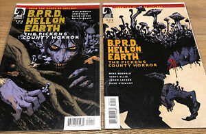 B.P.R.D. HELL ON EARTH THE PICKENS COUNTY HORROR # 1 - 2 Set Dark Horse Comics
