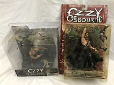 Ozzy Osbourne McFarlane Action Figures Bark at the Moon and Diorama with Bats