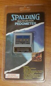 VTG Spalding Multifunction Quartz Pedometer New/Sealed Time Distance Steps