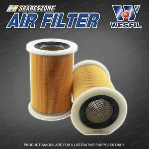 Wesfil Air Filter for Ford Courier PE PG PH 2.5L 4Cyl 12V SOHC Turbo Diesel