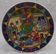 Villeroy & and Boch CHRISTMAS 1996 Magie de Noel plate BOXED Gero Trauth
