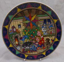 Villeroy & Et Boch Noël 1996 magie de Noel Plaque Boxed Gero Trauth