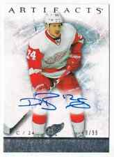 2012-13 ARTIFACTS ROOKIE AUTOGRAPH DAMIEN  BRUNNER AUTO 18/99 DETROIT RED WINGS