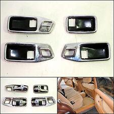 Mercedes Benz W116 S-Class Complete Door Chrome Handles Surround