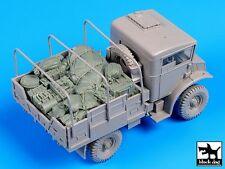 Black Dog 1/35 British Chevrolet 15 CWT Truck Accessories Set (Italeri) T35096